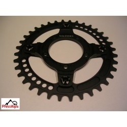 Adapter chainring 104BCD BBS01/02 + Chainring 36T Narrow wide + bolts